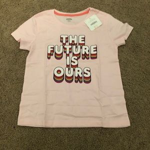 Gymboree girls the future is ours tee